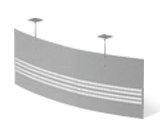 Екран стола металевий T9.60.09