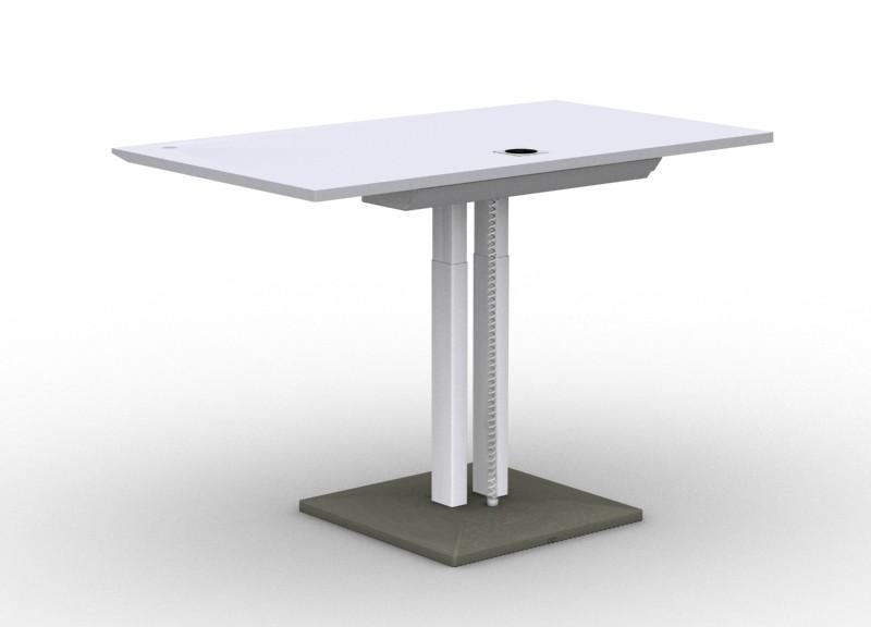 Стіл регульований по висоті SOLO з бетонної базою